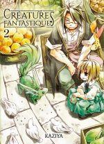 Créatures fantastiques T2, manga chez Komikku éditions de Kaziya