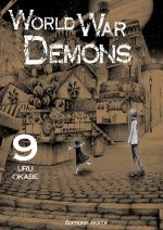 World war demons T9, manga chez Akata de Okabe