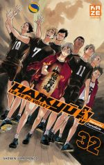 Haikyû, les as du volley T32, manga chez Kazé manga de Furudate