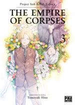 The empire of corpses T3, manga chez Pika de Project Itoh, Tomoyuki