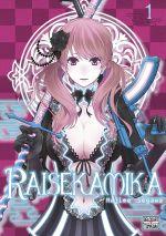 Raisekamika T1, manga chez Delcourt Tonkam de Segawa