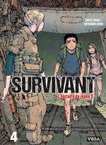 Survivant - l'histoire du jeune S T4, manga chez Vega de Saïto, Miyagawa