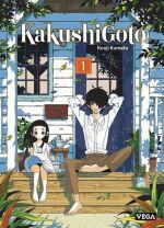Kakushigoto T1, manga chez Vega de Kumeta