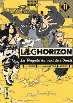 Log Horizon - La brigade du vent de l'ouest  T11, manga chez Kana de Tono