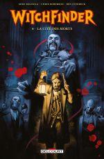 Witchfinder T4 : La Cité des Morts (0), comics chez Delcourt de Roberson, Mignola, Stenbeck, Madsen, Tedesco