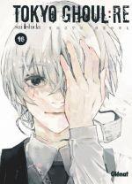 Tokyo ghoul:re T16, manga chez Glénat de Ishida