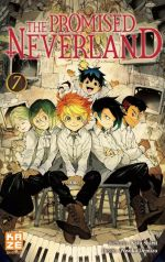 The promised neverland T7, manga chez Kazé manga de Shirai, Demizu
