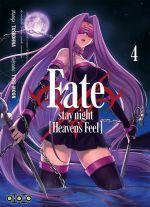 Fate stay night [Heaven's feel] T4, manga chez Ototo de Type-moon, Taskohna