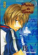 Prince du Tennis T15, manga chez Kana de Konomi