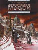 Les chroniques de Magon T1 : Les Enfants de la cyberchair (0), bd chez Delcourt de Jarry, Lapeyre, Brants