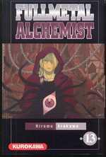 Fullmetal Alchemist T13, manga chez Kurokawa de Arakawa