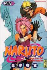 Naruto T30, manga chez Kana de Kishimoto