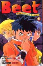 Beet The Vandel Buster T6, manga chez Kana de Sanjô, Inada