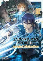 Sword art online - Project Alicization T2, manga chez Ototo de Kawahara, Yamada, Abec