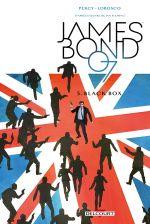 James Bond T5 : Black box (0), comics chez Delcourt de Percy, Lobosco, Bowland, Reardon