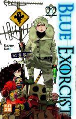 Blue exorcist T22, manga chez Kazé manga de Kato