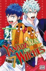 Yamada kun & the 7 witches T21, manga chez Delcourt Tonkam de Yoshikawa