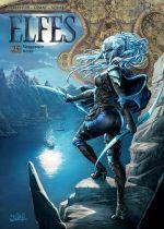 Elfes – cycle Les elfes noirs, T25 : Vengeance noire (0), bd chez Soleil de Arleston, Dimat, Aquaro