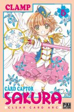 Card Captor Sakura - Clear card arc T5, manga chez Pika de Clamp
