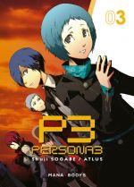 Persona 3 T3, manga chez Mana Books de Sogabe, Atlus