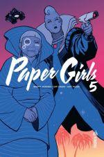 Paper Girls T5, comics chez Urban Comics de Vaughan, Chiang, Wilson, Cunniffe
