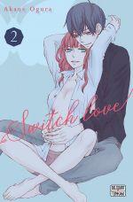 Switch love T2, manga chez Delcourt Tonkam de Ogura