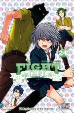 Fight girl T24, manga chez Delcourt Tonkam de Tsubaki