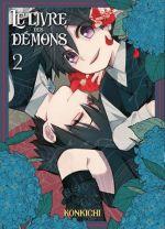 Le livre des démons T2, manga chez Komikku éditions de Konkichi