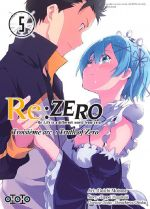 Re:Zero – 3e arc Truth of zero, T5, manga chez Ototo de Nagatsuki, Matsuse