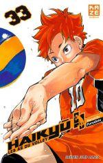 Haikyû, les as du volley T33, manga chez Kazé manga de Furudate