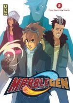 Marblegen Origines T2, manga chez Kana de Dos Santos, Grelin