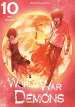 World war demons T10, manga chez Akata de Okabe