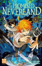 The promised neverland T8, manga chez Kazé manga de Shirai, Demizu