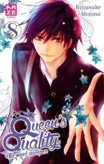 Queen's quality T8, manga chez Kazé manga de Motomi