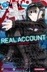 Real account T15, manga chez Kurokawa de Okushou, Shizumukun