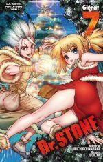 Dr Stone T7, manga chez Glénat de Inagaki, Boichi