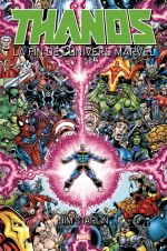 Thanos : La fin de l'univers Marvel (0), comics chez Panini Comics de Starlin, Scheele, Heroic Age
