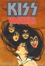 Kiss Vampirella, comics chez Vestron de Sebela, Martello, Doe, Castro, O'Halloran, Pinto