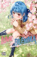 Love x dilemma T13, manga chez Delcourt Tonkam de Sasuga