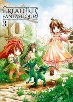 Créatures fantastiques T3, manga chez Komikku éditions de Kaziya