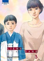 Les liens du sang T3, manga chez Ki-oon de Oshimi