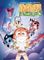 Chatons contre Dinosaures T1, bd chez Jungle de Mourier, Silas, Sierro