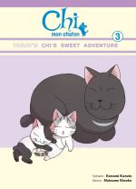 Chi mon chaton T3, manga chez Glénat de Konami, Kinoko