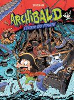 Archibald T5 : L'élixir du pirate (0), bd chez Sarbacane de Hyung-min