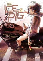 Ice pig T2, manga chez Delcourt Tonkam de Asada