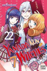 Yamada kun & the 7 witches T22, manga chez Delcourt Tonkam de Yoshikawa