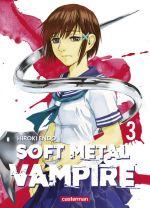 Soft metal vampire T3, manga chez Casterman de Endo