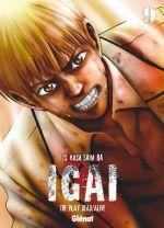 Igai - The play dead/alive T9, manga chez Glénat de Saimura