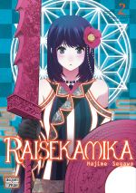 Raisekamika T2, manga chez Delcourt Tonkam de Segawa