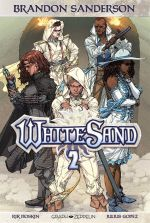 WhiteSand T2, comics chez Graph Zeppelin de Hoskin, Gopez, Otha, Hickman, Aiala